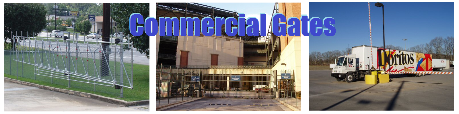 Commercial Gates and Fences