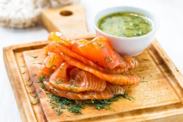 Salmon Gravalax