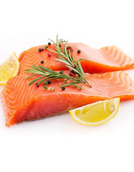 Salmon Fillets Skinless & Boneless