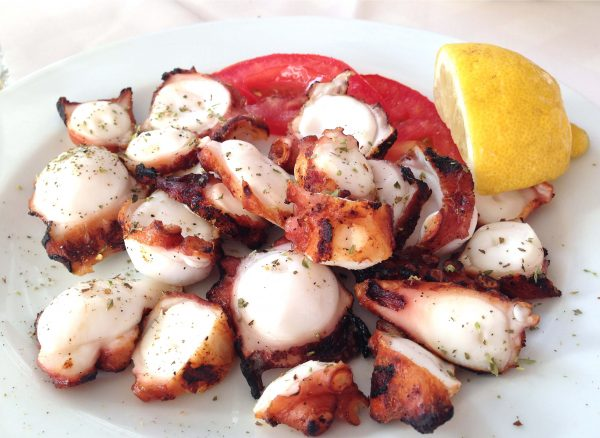 Sliced Cooked Octopus Pieces 975g