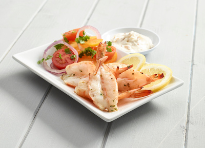 Marinated King Prawns