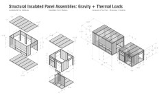 Structural Insulated Panel Assemblies. Image by Bradley Walters.