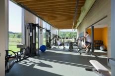 Fitness Center. Photo by Albert Vecerka │ ESTO.