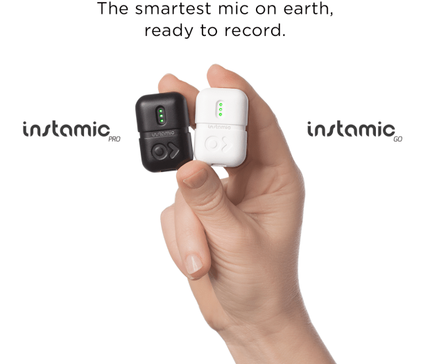 Instamic – the GoPro of Microphones, the missing dots.