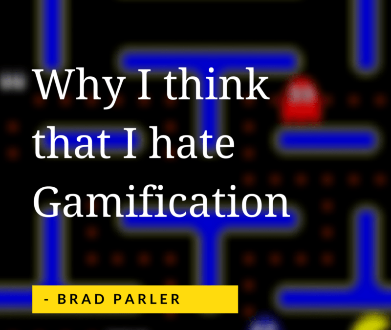 Why I think I hate Gamification
