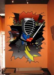 Katana Games Wall Mural