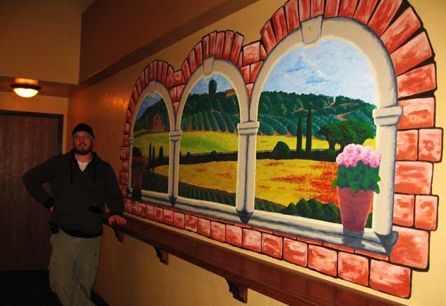 Tazzina di gelato wall mural
