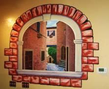 Tazzina di Gelato wall painting