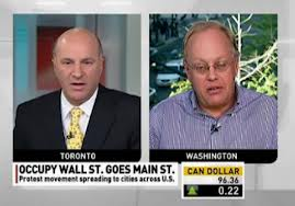 Occupy Movement the subject as Chris Hedges and Kevin O'Leary battle it out over repercussions of the financial crisis #fb