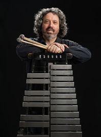 Tony Miceli and his Musser Vibraphone