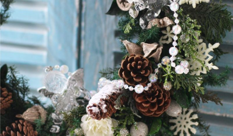artificial christmas wreaths decorated 35 fresh - Artificial Christmas Wreaths Decorated