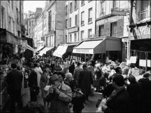rue mouffetard by Alfred Eisenstaedt