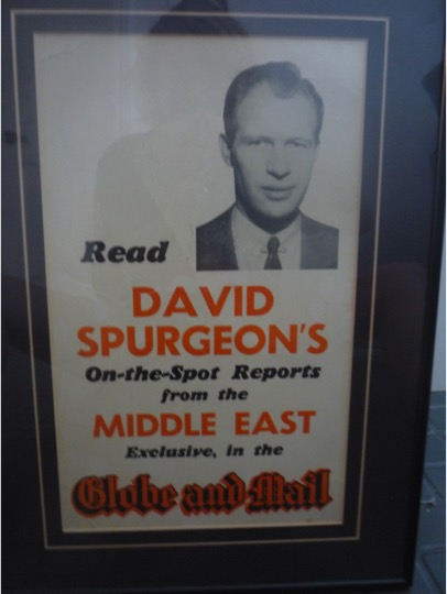 Spurgeon Middle East poster