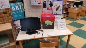 Dream Video Station in Milan Via Padova Library