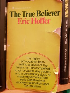 My copy of The True Believer
