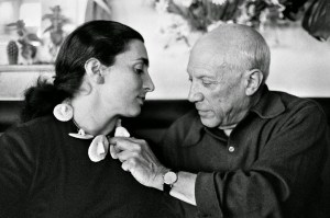 Picasso and Jacqueline