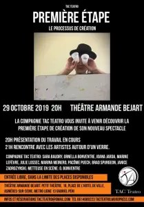 Poster for Première Etape in October