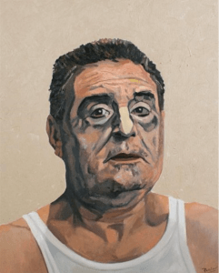 Portrait of Rigby by Anthony Palliser.