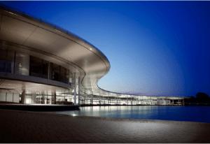 McLaren Technology Centre team factory.  Photo Credit: McLaren F1 Team