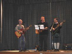 PC Trio - Brent Gallant - Dana Parker - Brad Trivers - PC Concert 2015