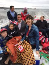 Boat Parade - Canada Day 2017 - North Rustico Harbour - Brad Trivers - Andrew Scheer - #backtobasics