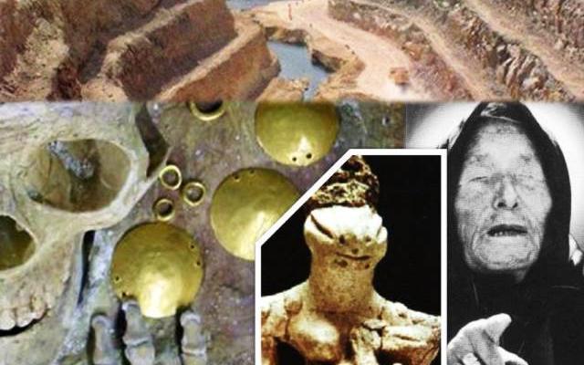 Извънземната раса Анунаки са създали първата цивилизация - тази на древните Българи, за да ги експлоатират и ограбват (СНИМКИ)...