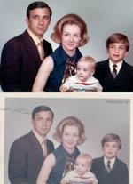 Photo Restoration Example One