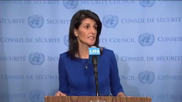 Nikki at UN