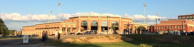 Bull Street is coming along fine. It's got baseball...