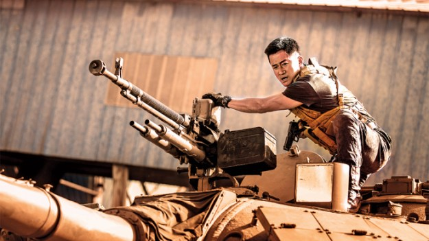 China's Rambo: The piece in The New Yorker leads with the wild success of a new film in which the Chinese hero flexes muscle abroad...