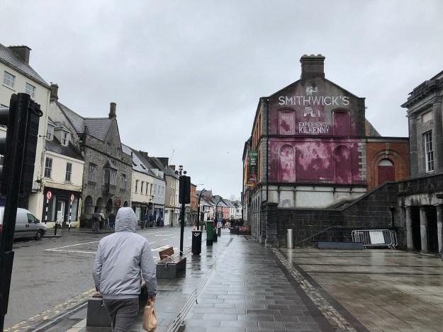 A Kilkenny street scene...
