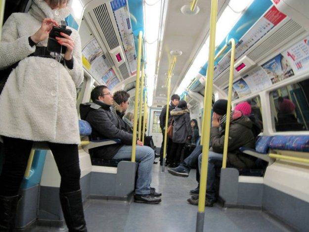 Ahhh, the Tube!
