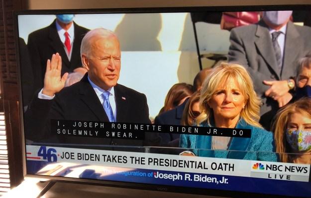 Joe Inauguration