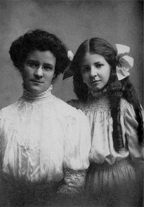 Katharine Cook Briggs and Isabel Briggs Myers, early 1900s