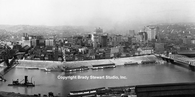Pittsburgh History:  Evolution of The Point and Skyline 1900-1920 Vol. 1 (1/3)