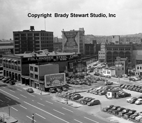 Historical Pittsburgh Photographs of the Point-Area Before Gateway Center (5/6)