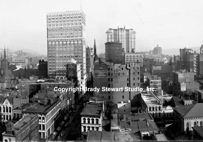 Historical Photographs of the Pittsburgh Skyline - 1904 (1/4)