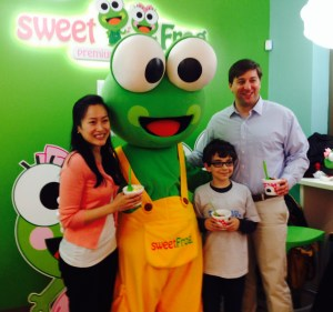 Lilianna, Sweet Frog, Me and Senator Townsend