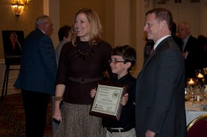 Me with Lt. Gov. Denn and Secretary Rita Landgraf