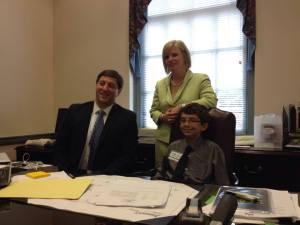 Senator Townsend, Senator Poore and Me