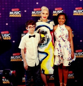 Me with Gwen Stefani and Whitney Stewart