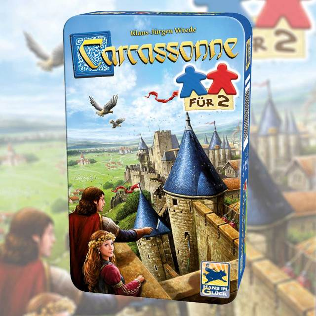 Carcassonne For 2