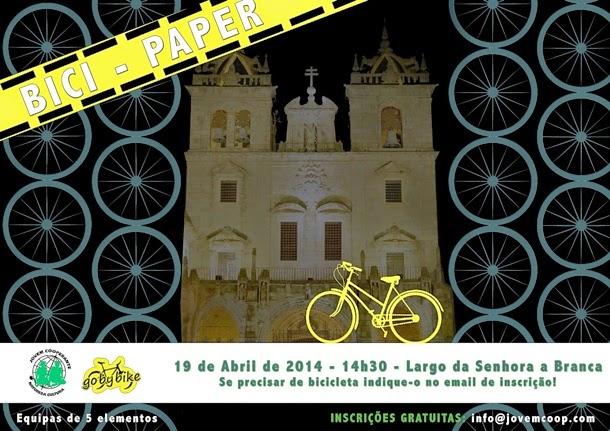 Bici-Paper no centro de Braga – vamos lá pedalar?