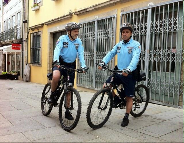 PSP já tem patrulhas de bicicleta em Braga!