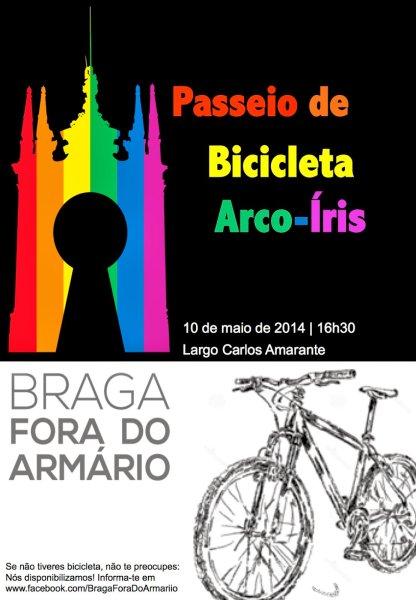 Passeio de Bicicleta Arco Iris