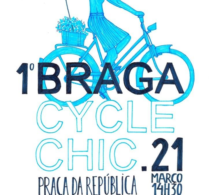 Braga Cycle Chic desafia bracarenses a pedalar com estilo a 21 de Março
