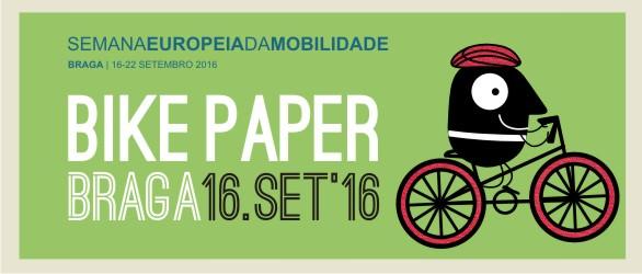 Bike Paper – venha conhecer o comércio de Braga a pedalar!
