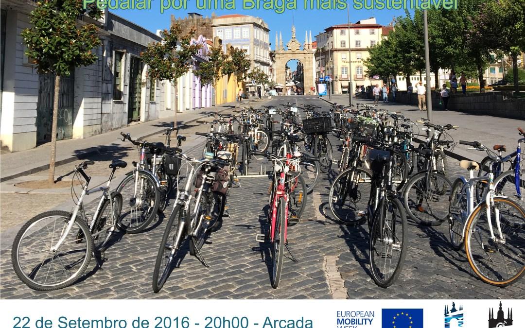 Pedalar por uma Braga mais sustentável