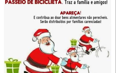 Passeio Pai Natal em Bicicleta 2016