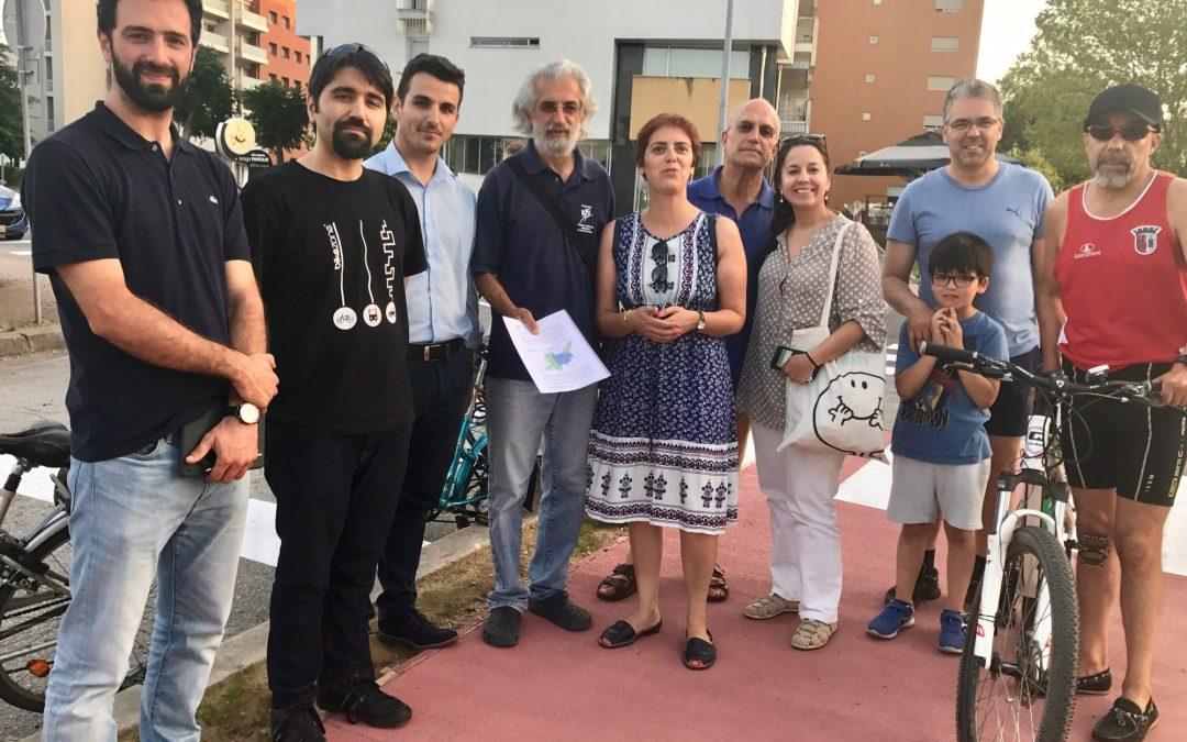 Braga Ciclável reuniu com Bloco de Esquerda